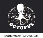 octopus logo   vector... | Shutterstock .eps vector #699933931