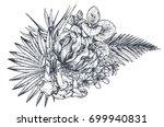 vector composition of hand... | Shutterstock .eps vector #699940831