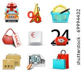 Shopping Icons   Bella Series