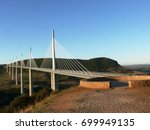 The Viaduct Of Millau In...