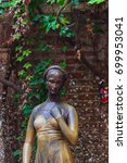 Statue Of Juliet In Her House...