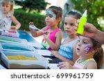 alchevsk  ukraine   july 27 ...   Shutterstock . vector #699961759