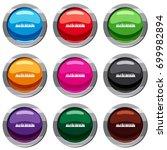 audio digital equalizer... | Shutterstock .eps vector #699982894