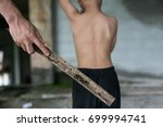human trafficking  stop abusing ... | Shutterstock . vector #699994741