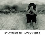 Small photo of Human trafficking ,Stop abusing violence.