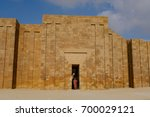 ruins of the funerary complex...   Shutterstock . vector #700029121