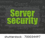 safety concept  painted green...   Shutterstock . vector #700034497