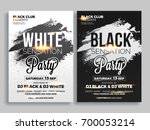 party flyer or banner design in ... | Shutterstock .eps vector #700053214