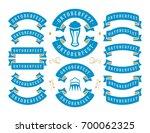 oktoberfest celebration beer... | Shutterstock .eps vector #700062325