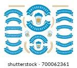 oktoberfest celebration beer... | Shutterstock .eps vector #700062361