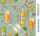 vector seamless pattern for... | Shutterstock .eps vector #700066117