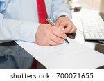 making notes    Shutterstock . vector #700071655