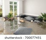 3d Rendering. Flood In Brand...