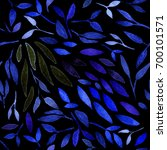 watercolor seamless pattern... | Shutterstock . vector #700101571