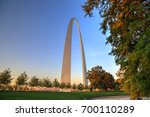 The Gateway Arch In St. Louis ...