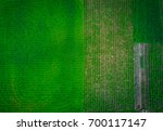 top view aerial shot of the... | Shutterstock . vector #700117147