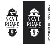 skateboarding t shirt design.... | Shutterstock .eps vector #700141819