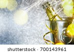 new years eve celebration... | Shutterstock . vector #700143961