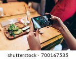 food photography for social... | Shutterstock . vector #700167535