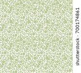 beautiful pattern with little... | Shutterstock . vector #700174861