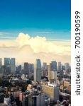 cityscape of tokyo city  japan. ... | Shutterstock . vector #700190599