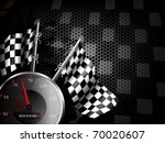speed racing background with... | Shutterstock .eps vector #70020607