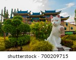 White Cat Monument Is The...