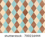 watercolor blue  beige and... | Shutterstock . vector #700216444