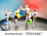 miniature people.bavarian man... | Shutterstock . vector #700216867