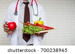 healthy food and clean concept  ... | Shutterstock . vector #700238965