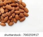 almonds | Shutterstock . vector #700253917