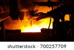 steel making industries | Shutterstock . vector #700257709