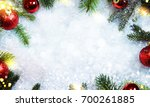 christmas holiday background | Shutterstock . vector #700261885