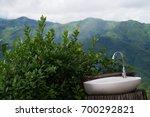 abbandoned sink in nature... | Shutterstock . vector #700292821