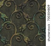 Copper Seamless Texture With...
