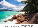 beautiful rocky coast and... | Shutterstock . vector #70032955