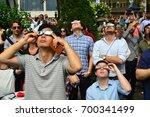 new york  ny  usa august 21 ... | Shutterstock . vector #700341499