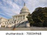 Stock photo washington dc capitol hill building 70034968