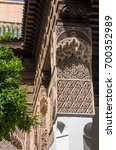 marrakesh  morocco   may 3 ... | Shutterstock . vector #700352989