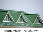 the house with plastic windows... | Shutterstock . vector #700358494