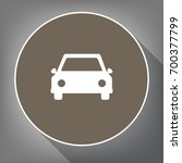 car sign illustration. vector.... | Shutterstock .eps vector #700377799