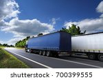 truck on the road | Shutterstock . vector #700399555