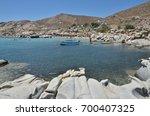 kolimpithres beach  paros... | Shutterstock . vector #700407325