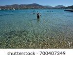 kolimpithres beach  paros...   Shutterstock . vector #700407349