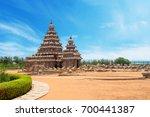 shore temple at mahabalipuram ... | Shutterstock . vector #700441387