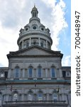 city hall in baltimore  maryland | Shutterstock . vector #700448947