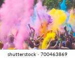 color festival | Shutterstock . vector #700463869