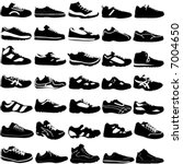 shoes vector  fashion  sport ...