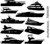sea tranportation vector  motor ... | Shutterstock .eps vector #7004659