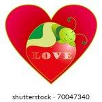 vector illustration. valentine... | Shutterstock .eps vector #70047340